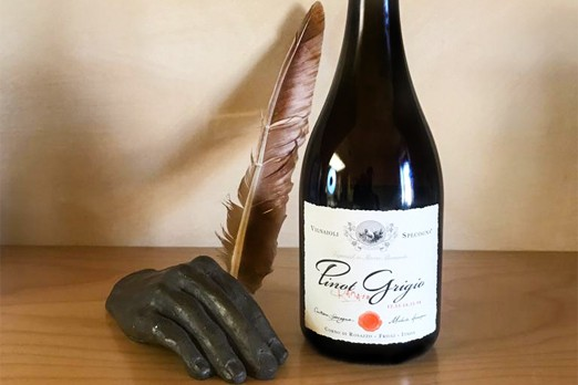 pinot grigio ramato riserva specogna