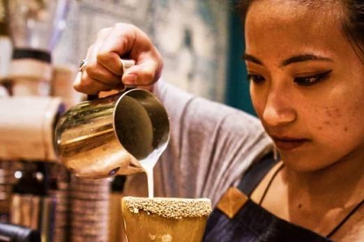 Coffee Cocktail con JQ guru della coffee mixology