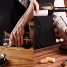 differenze e analogie tra baristi e sommelier
