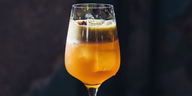 il coffee cocktail dal carattere vivace creato da Daniele Pappa