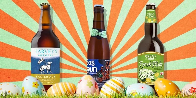 birre di pasqua dalla Danimarca, Inghilterra e Belgio
