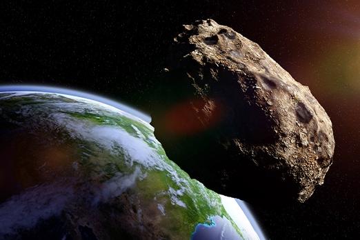 asteroide che si avvicina orbita terrestre