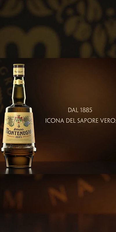 pubblicità amaro montenegro